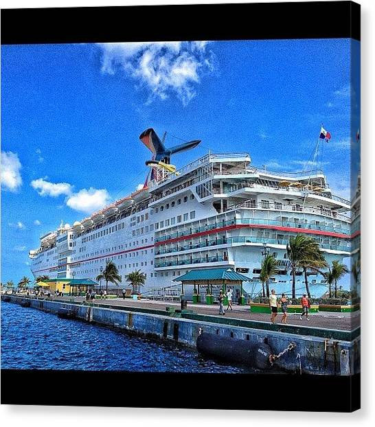 Bahamas Canvas Print - #cruise #ecstasy #bahamas #igdaily by Matt Turner