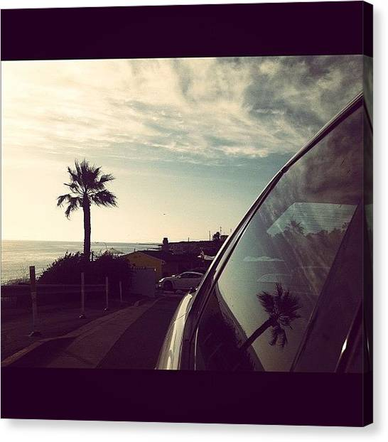 Ashes Canvas Print - Cruising Down Pch #oc by Ash Eliot