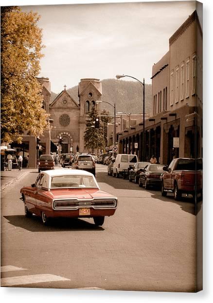Santa Fe, New Mexico - Cruising Santa Fe Canvas Print