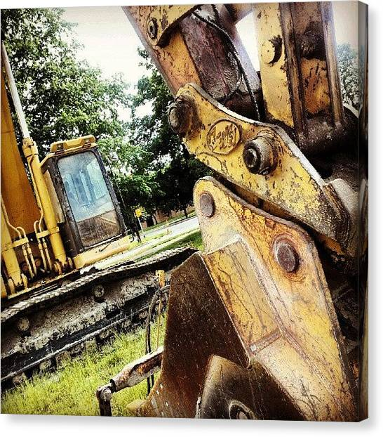 Tools Canvas Print - Crush Dig by Jermaine Young