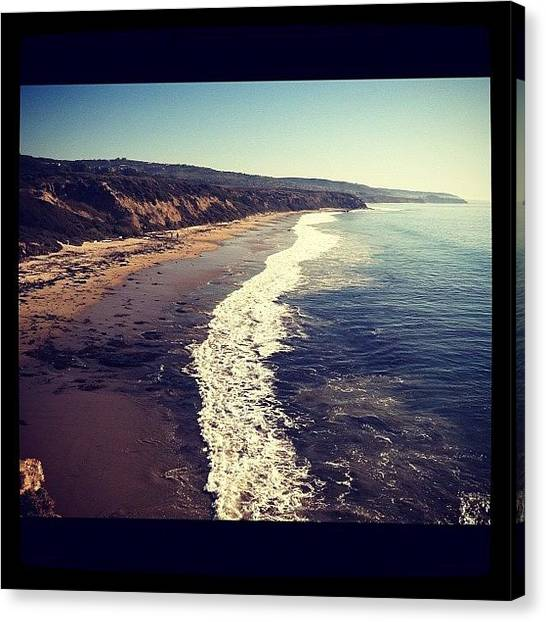 Ashes Canvas Print - Crystal Cove Chrismukah by Ash Eliot