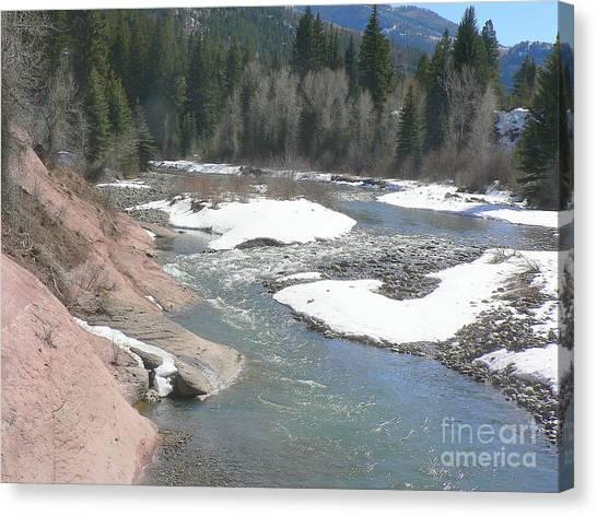 Crystal River Colorado Canvas Print