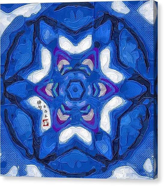 Mandala Canvas Print - Cuarto Creciente (72) --- Bon Dia by Haiku Disseny Estudi