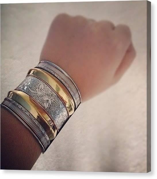 Presents Canvas Print - #cuff #bracelet #jewellery #fashion by Grace Shine