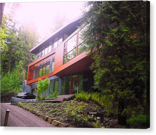 Cullen House Aka Hoke House Canvas Print