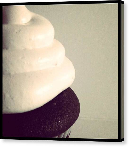 Percussion Instruments Canvas Print - Cupcake by Meghan Drum