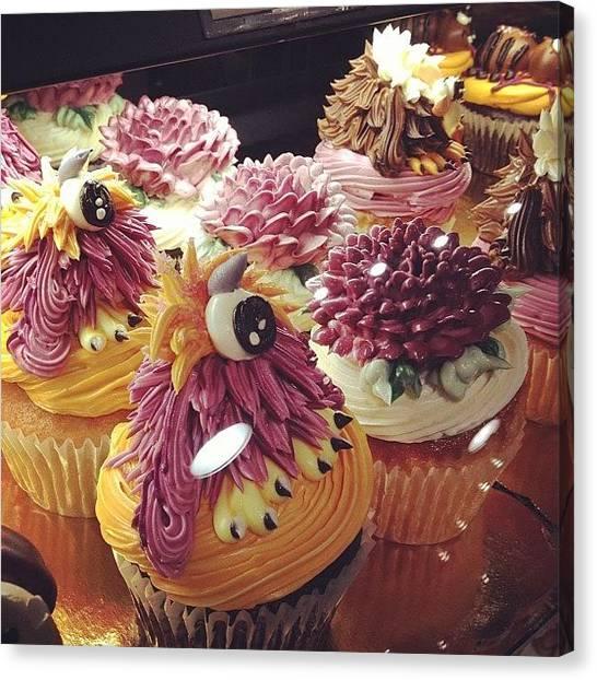 Thanksgiving Canvas Print - #cupcakes #cake #halloween by Rachel Korsen