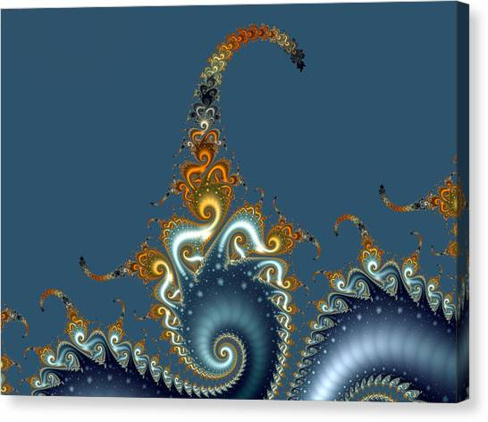 Curly Curly Canvas Print