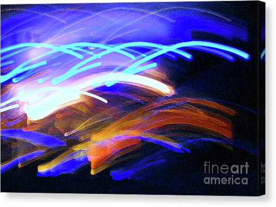 Curvaceous Color Canvas Print