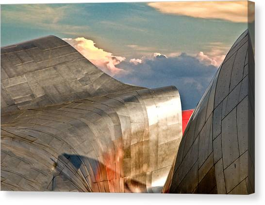 Curves Of Steel Canvas Print