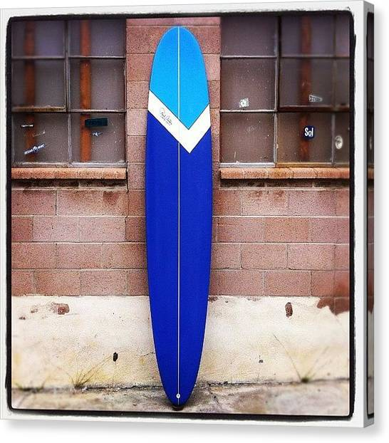 Surfing Canvas Print - Custom 9ft By 22 By 2.5/8. #custom by Paul Carter