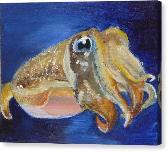 Cuttle Fish Canvas Print
