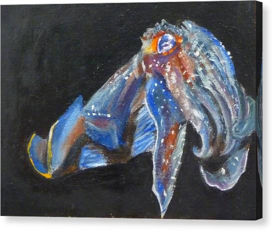 Cuttlefish II Canvas Print