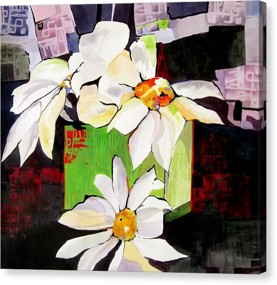 Canvas Print - Daisy Design by Jane Ferguson