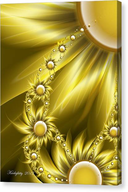 Daisy Sunshine Canvas Print