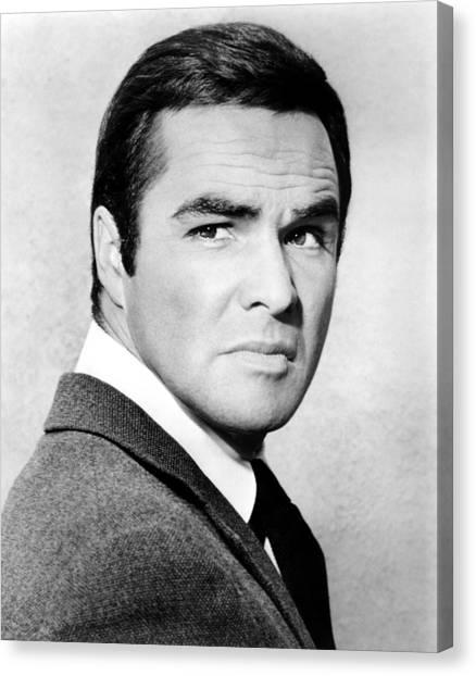 Burt Reynolds Canvas Print - Dan August, Burt Reynolds, 1970-71 by Everett