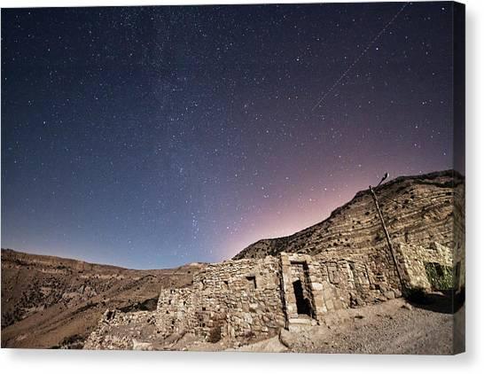 Jordan Canvas Print - Dana Nature Reserve. by Rayan Azhari - Email rayanazhari@gmail.com