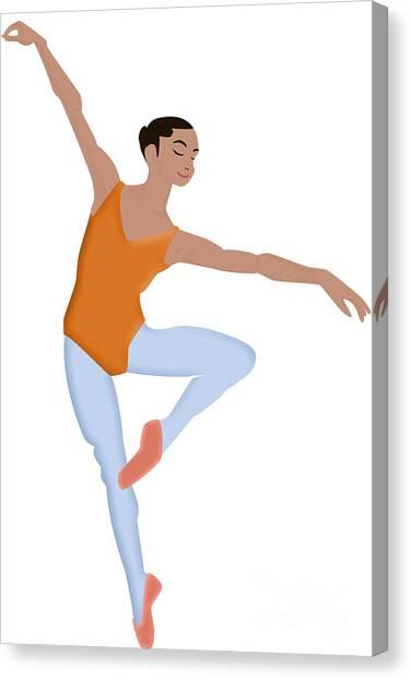 Dancer Canvas Print by Melissa Stinson-Borg