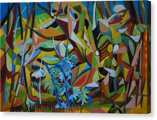 Canvas Print - Dancers Of The Forests by Rufus Norman