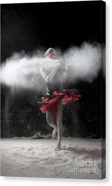 Dancing In Flour Series Canvas Print