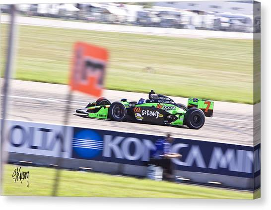 Danica Patrick Canvas Print - Danica by Stan Kwong