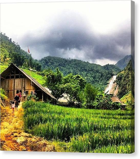 Vietnamese Canvas Print - #dao #village #sapa #vietnam by Universal Traveller