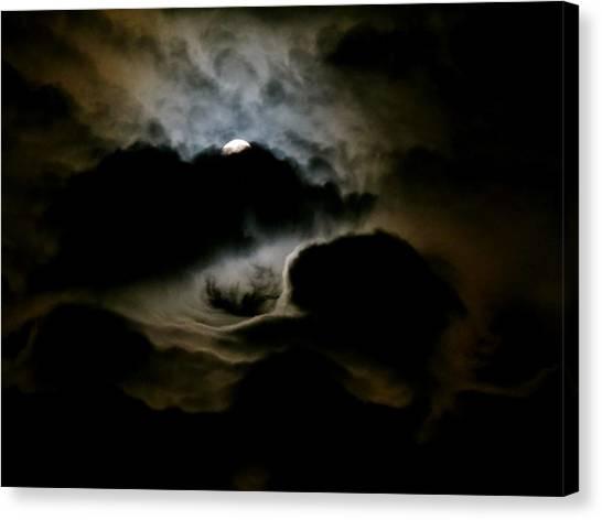 Dark Moon Mystery Canvas Print
