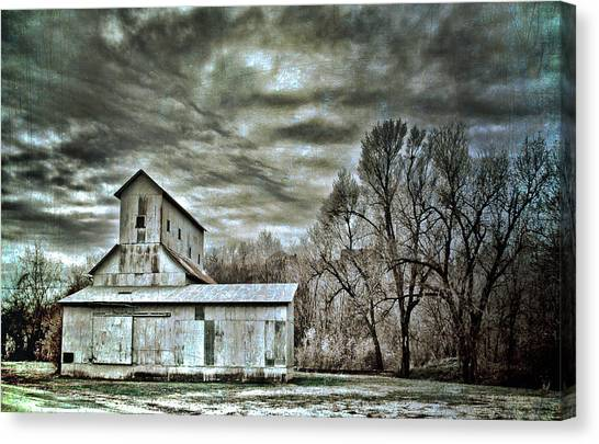 Dark Skies Canvas Print by Elizabeth Wilson