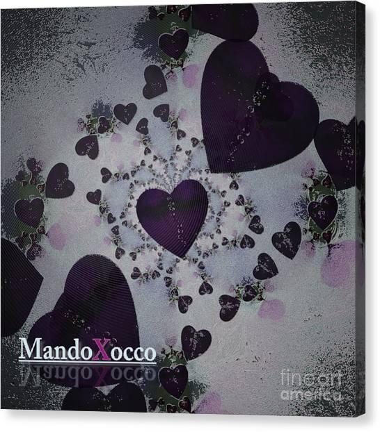 Dark Violet Canvas Print