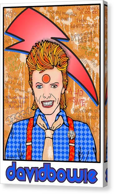 David Bowie Canvas Print by John Goldacker