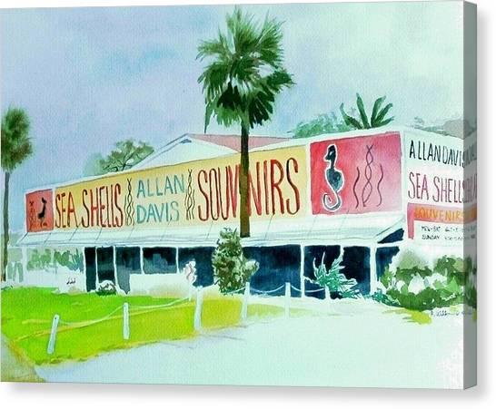 Davis Shell Shop Canvas Print