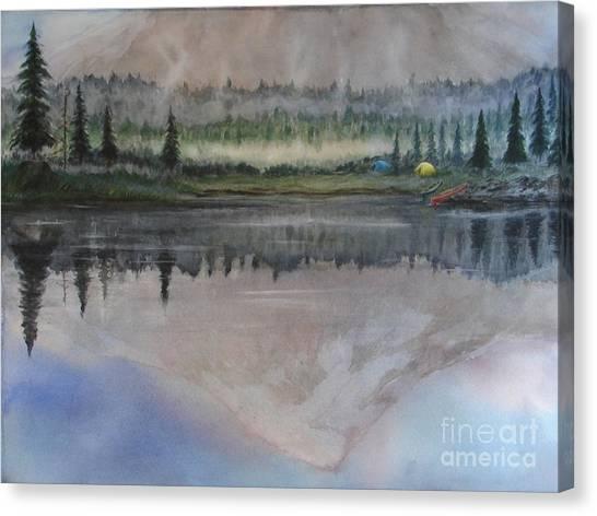 Dawn Reflections Canvas Print