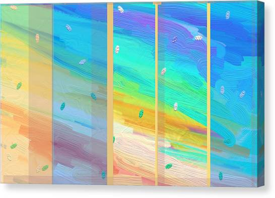 Dawn Shines Through Canvas Print by Naomi Jacobs