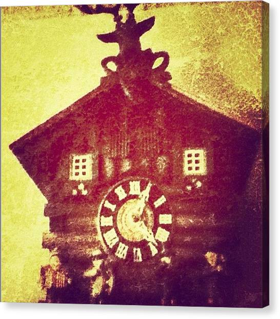 Swiss Canvas Print - Day 14 - Time. #photoadayjune by Jessica Daubenmire