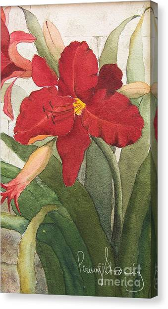 Day Lillies Canvas Print