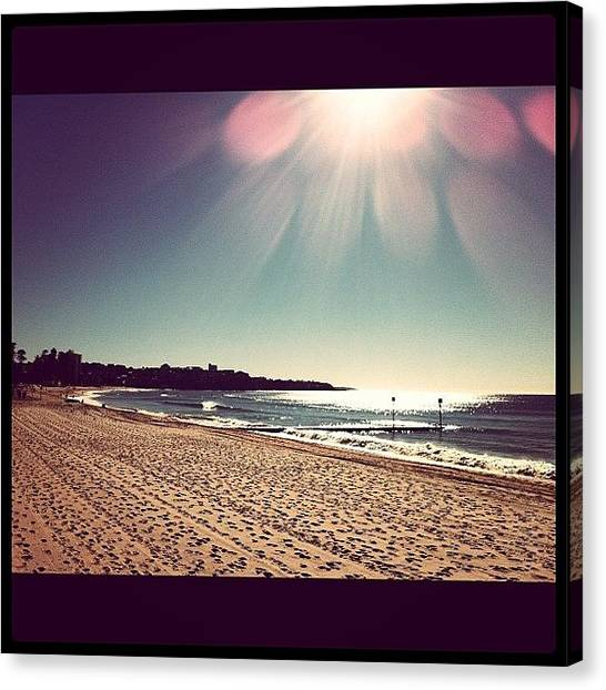Australian Canvas Print - Day Spent At The Beach. Awesome Winter! by Sydney Australia