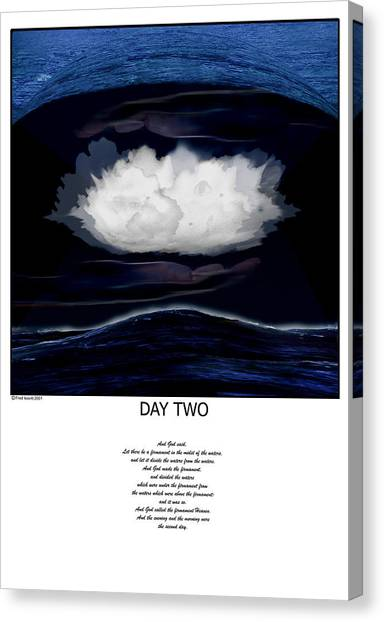 Day Two Canvas Print by Fred Leavitt