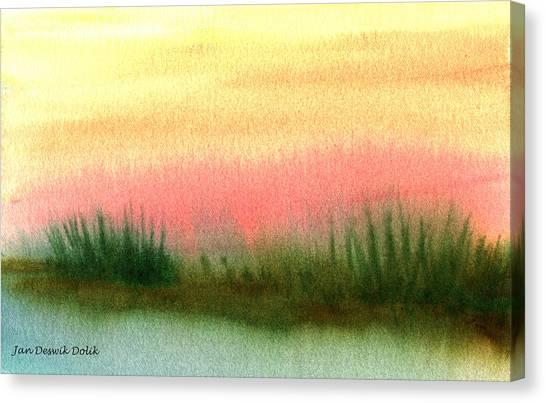 Daybreak Canvas Print by Jan Deswik