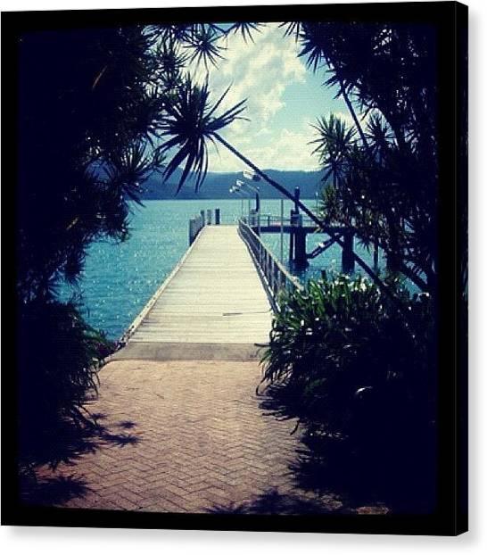 Mac Canvas Print - Daydream Island Whitsunday's by Kay Mac