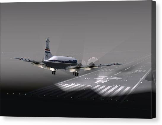 Dc6 Nite Final 17x11 Canvas Print