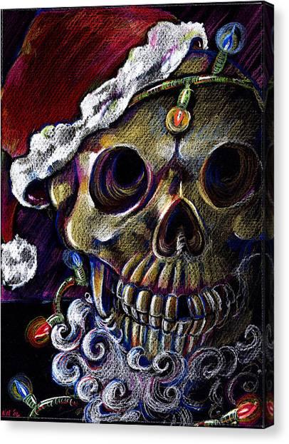 Dead Christmas Canvas Print