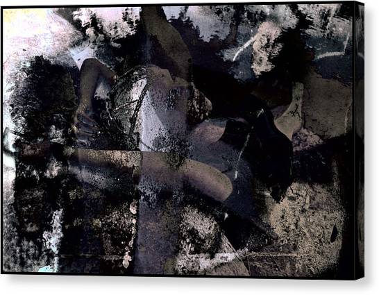 Canvas Print - Dead Sea Blues by Adam Kissel