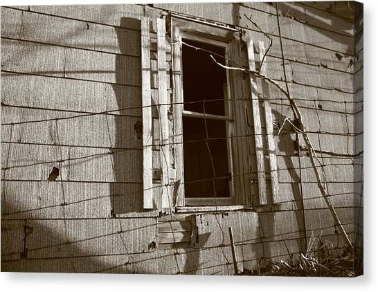 Dead Window Canvas Print