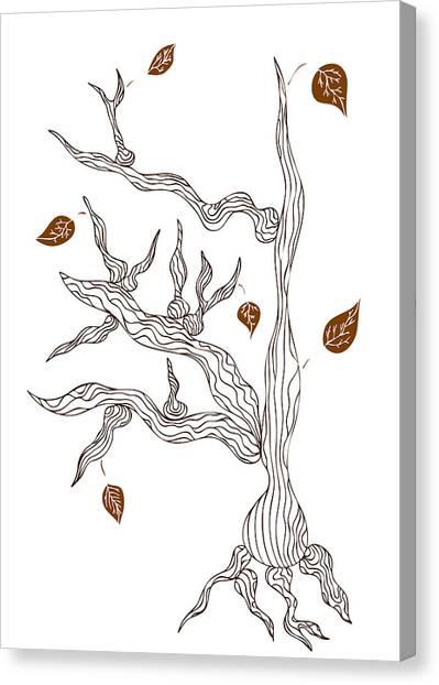 Dead Wood Canvas Print by Frank Tschakert