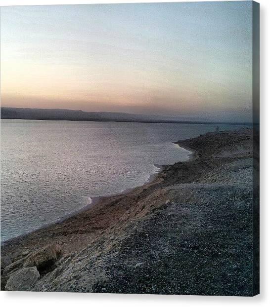 Palestinian Canvas Print - #deadsea #sea #water #jo #jordan #amman by Abdelrahman Alawwad