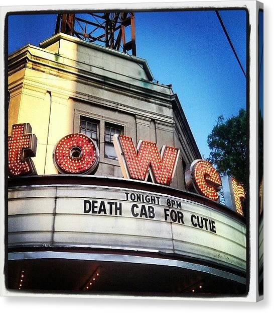 Philadelphia Canvas Print - Death Cab! by Christian Carollo