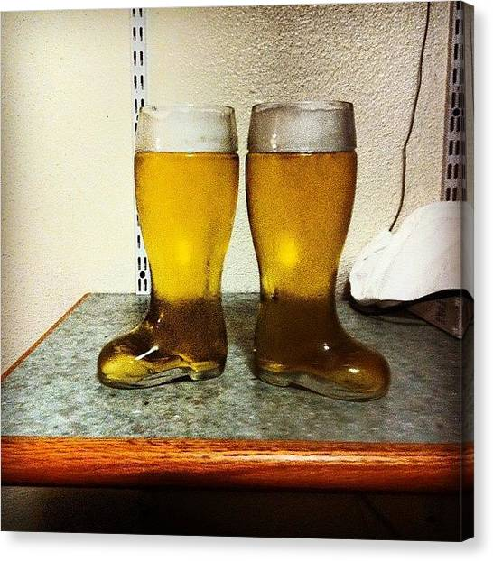 Syracuse University Canvas Print - Death Penalty, Das Boot... #beer #drunk by Andres Adler