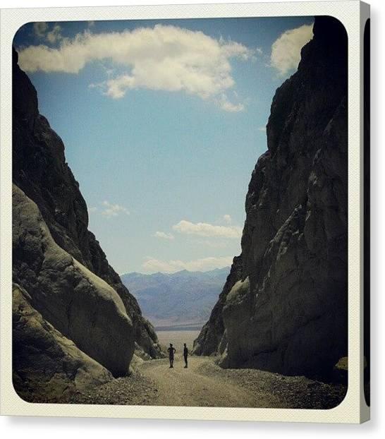 Offroading Canvas Print - Death Valley by Claudia Garcia Trejo