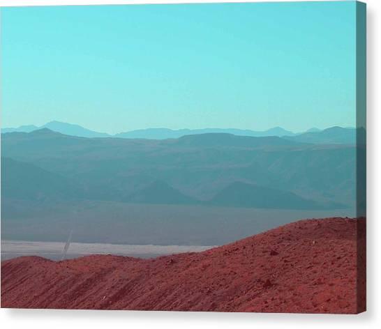 Death Valley Canvas Print - Death Valley View 2 by Naxart Studio