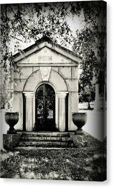 Death's Door Canvas Print